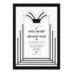 Art Deco Templates Free Gallery For Gt Art Deco Invitation Template