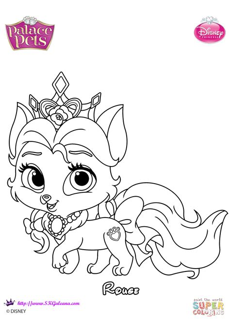 palace pets coloring pages palace pets coloring page free printable coloring