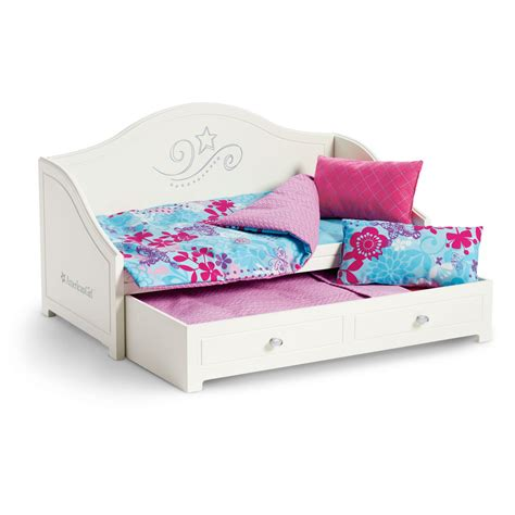 american girl doll bed set american girl trundle bed bedding set furniture