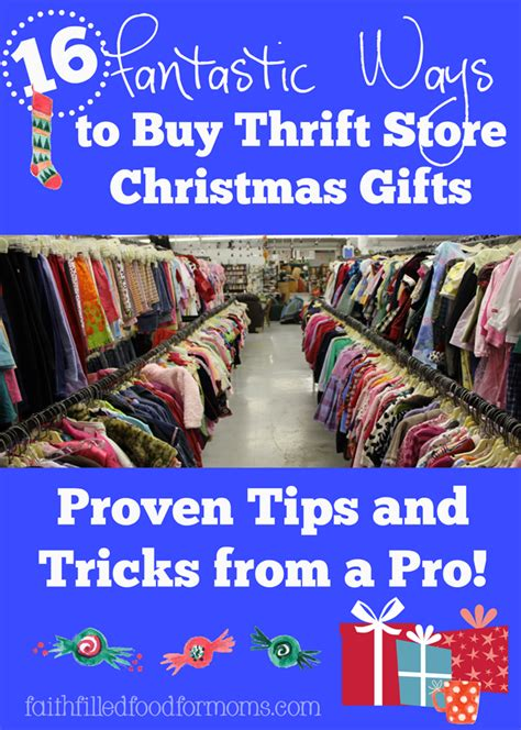 16 fantastic ways to buy thrift store christmas gifts