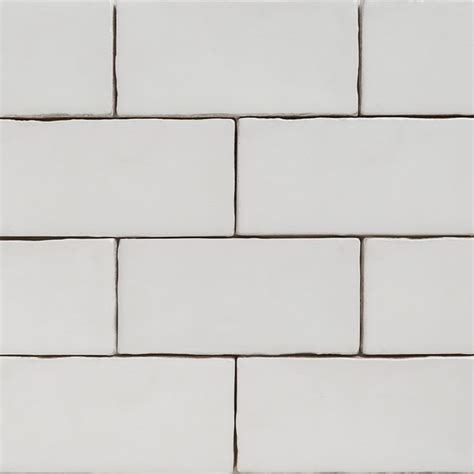 Handmade Wall Tiles - handmade white matt natura wall subway tiles 130 215 65 in