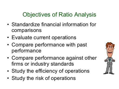 objective of financial statement analysis ratio analysis