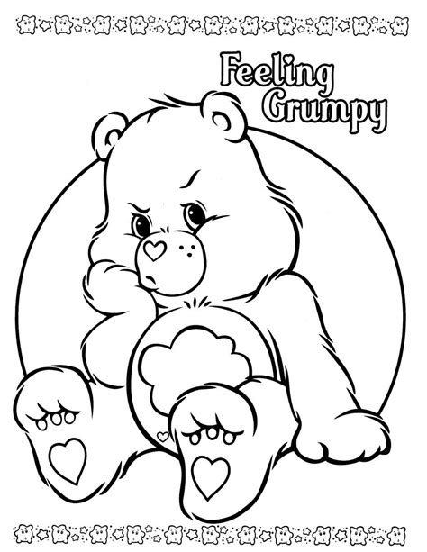 care bears coloring pages only coloring pages
