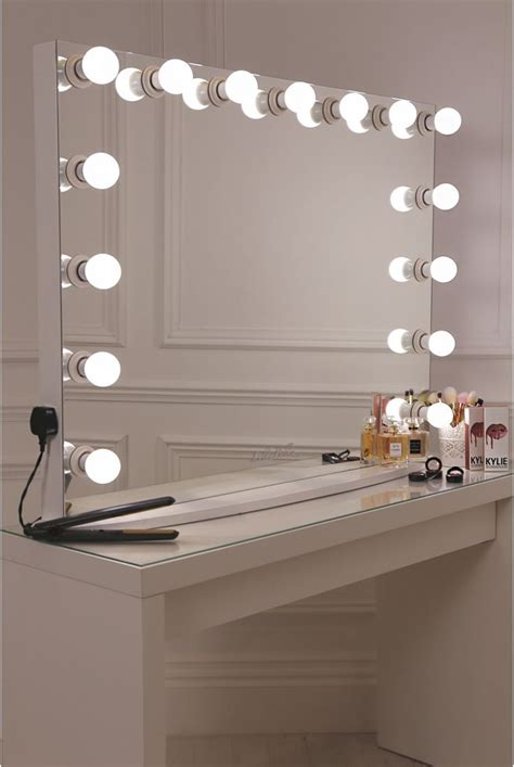 makeup mirror with lights and desk best 25 vanity desk with mirror ideas on
