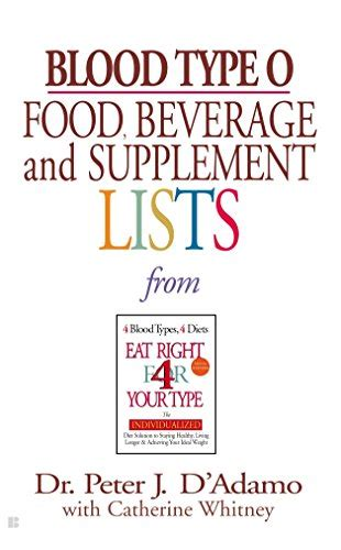 type o supplements blood type o food beverage and supplement lists import
