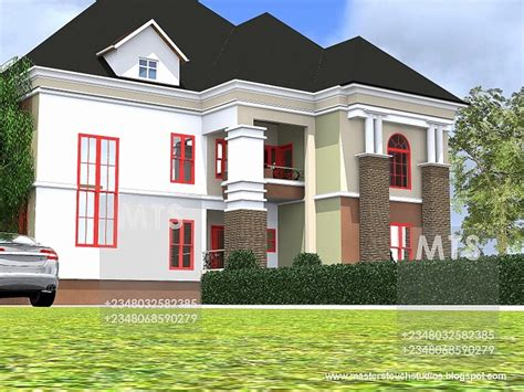 6 Bedroom Duplex House Plans by 6 Bedroom Duplex House Plans In Nigeria