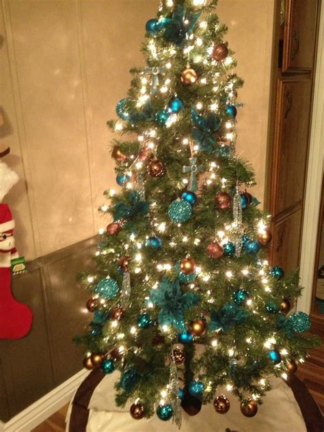 115 best images about turquoise christmas on pinterest
