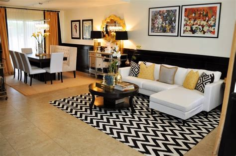 black and room black and white and gold living room home design ideas murphysblackbartplayers