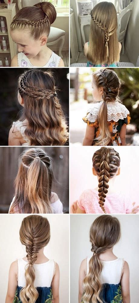 cool easy hairstyles for school steps different hairstyles for kids girls