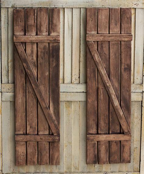 Wooden Shutters Rustic Shutters Farmhouse Shutters Country Shutters
