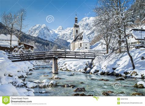 Chalet House Plans ramsau in winter berchtesgadener land bavaria germany