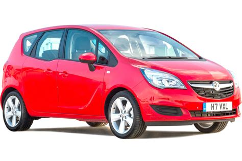 Vauxhall Meriva Mpv 2010 2017 Practicality Boot Space