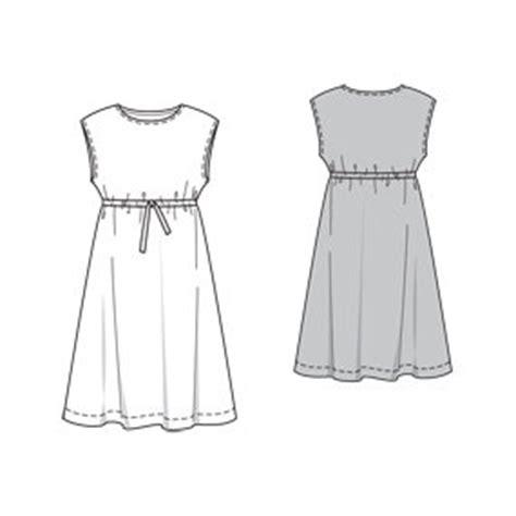 simple dress design pattern anda 7969 sewing patterns burdastyle com