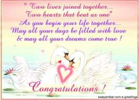 Wedding Wishes For Just Married by Just Married Congratulations Quotes Quotesgram