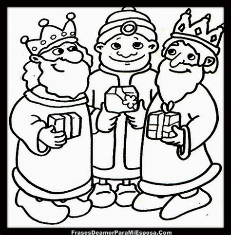 imagenes de los reyes magos para pintar dibujos de navidad para colorear e imprimir reyes magos