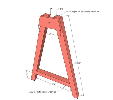 build adjustable legs ana white adjustable height sawhorses diy projects