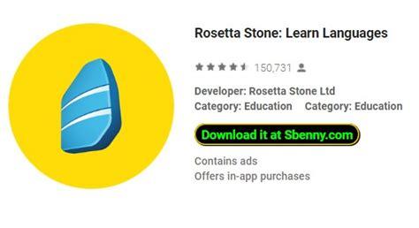 rosetta stone full apk rosetta stone learn languages full version unlocked mod apk