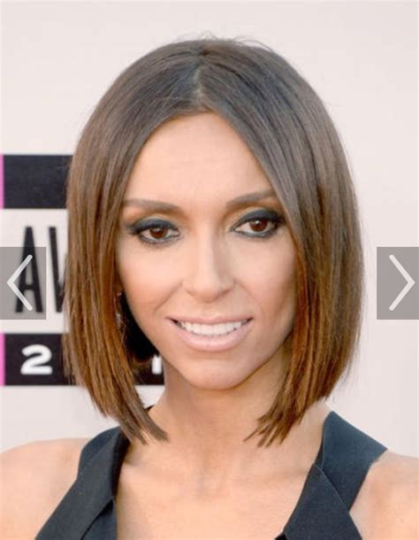 giuliana rancic from celebrity haircuts the bob e online 25 best images about bobs i love on pinterest