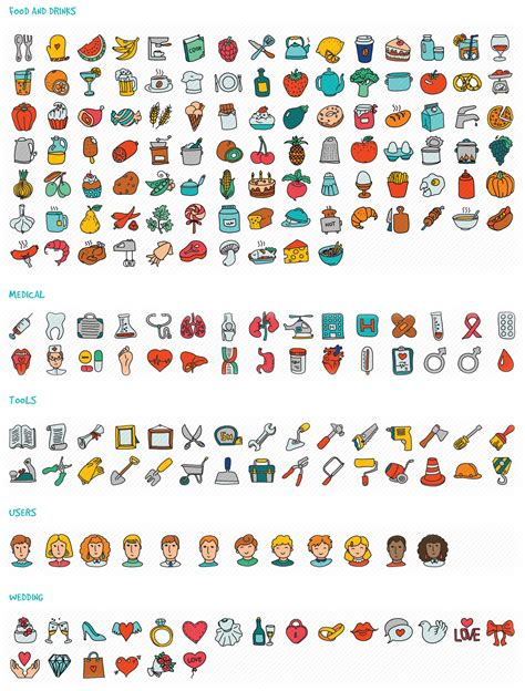 doodle draw icon pack apk doodle icon set icons