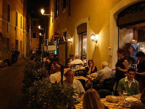 best restaurant trastevere rome best restaurants in rome in italy