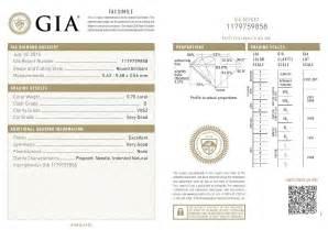 Cushion Cut Diamond Chart Diamond Certificate
