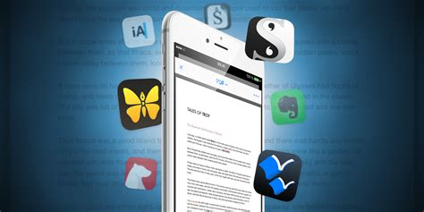 writing apps great ios apps for long form prose tapsmart