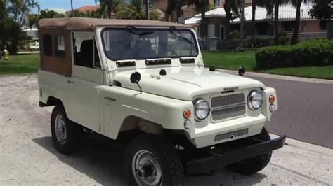 nissan patrol classic volcan 4x4 1967 nissan patrol pearl youtube