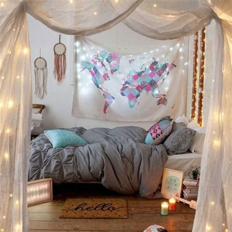 fashion world map printed rectangle boho tapestry bedroom