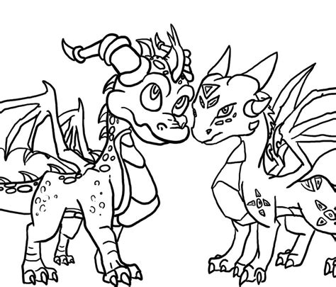 coloring pages of spyro the dragon spyro coloring pages az coloring pages