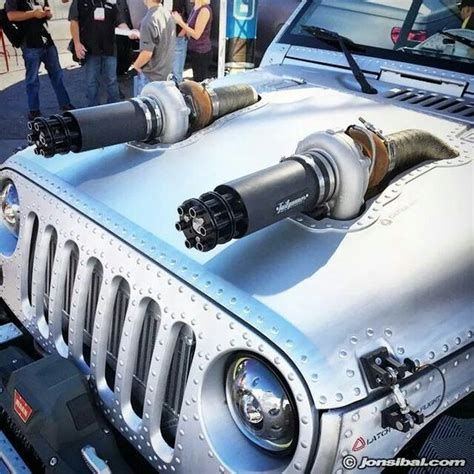 turbo jeep jeep with turbo and tailgunner exhaust tips as