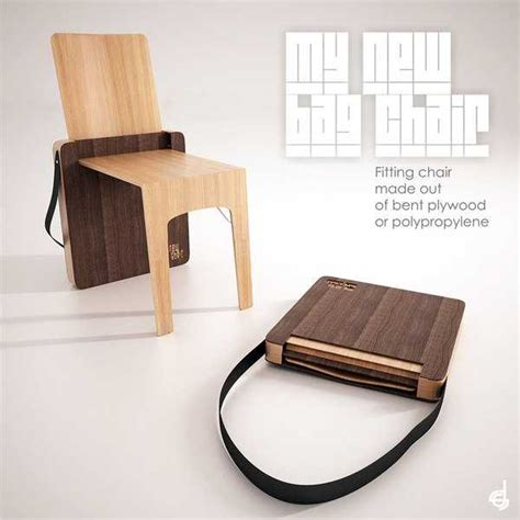 Folding Armchair Design Ideas Portable Folding Chair Design Bag Chair By Stevan Djurovic