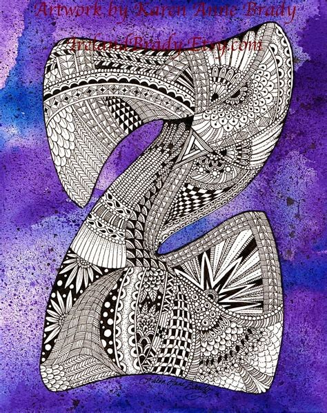 doodle inisial 1000 images about zentangle letters on