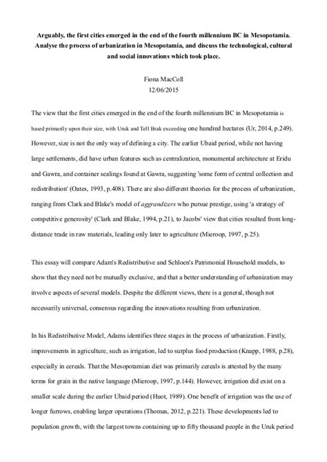 Mesopotamia Essay by Mesopotamia And Essay Conclusion Mesopotamia Essay Affordable Price Www