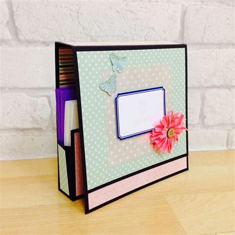 tutorial para hacer tarjetas scrapbook c 243 mo hacer una caja para guardar tarjetas tutorial