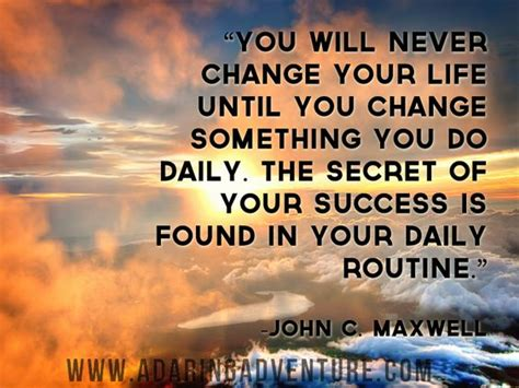 the secret feel good change your life quot you will never change your life until you change