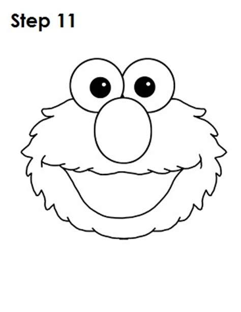 elmo cut out template best photos of elmo template elmo printable