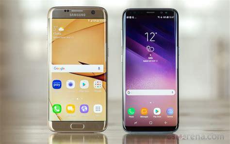 Samsung S8 Vs S7 Samsung Galaxy S8 Vs Galaxy S7 Edge Schnell Kamera