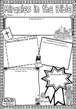 Wedding At Cana Pdf by Miracles Of Jesus Worksheets Feeding 5000 Wedding At