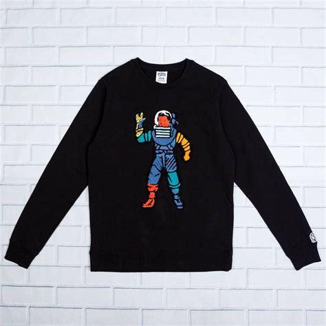 Astro Sweater Black billionaire boys club astro crew sweater black