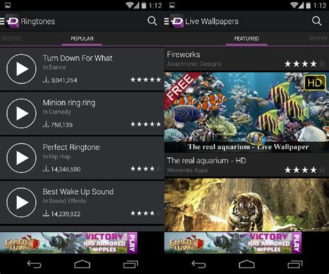 wallpaper android uptodown 192 la carte ringtones and wallpapers for android from zedge