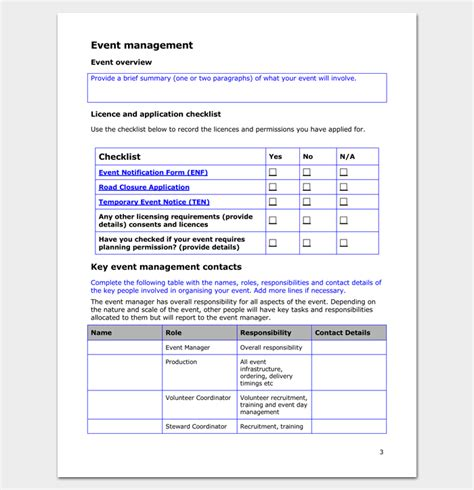 event program outline 13 printable sles exles