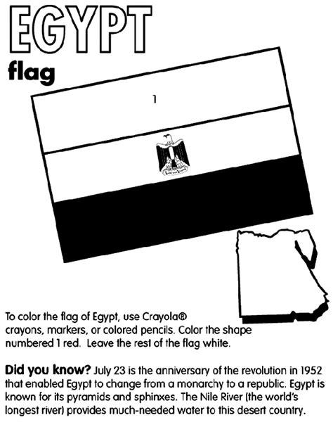 coloring page egypt flag egypt crayola co uk