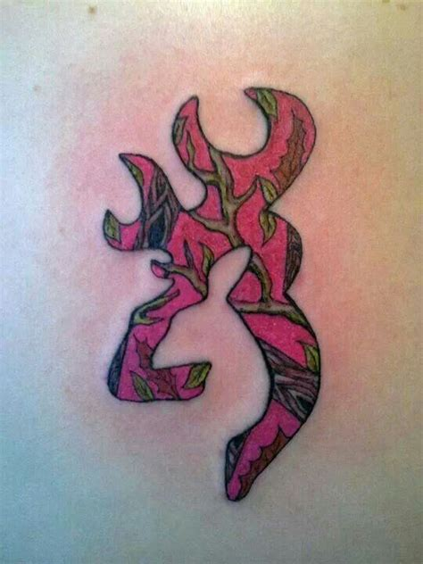 browning logo tattoo pink camo browning tattoos browning