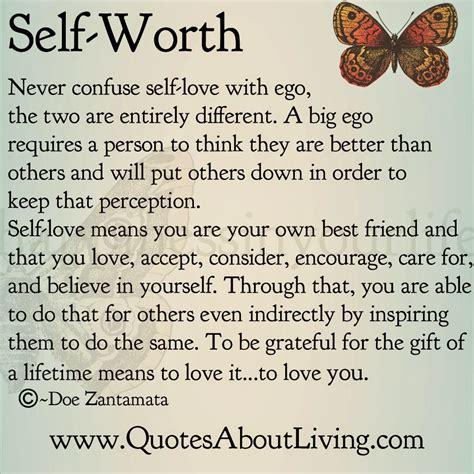 Self Ego quotes about living doe zantamata self worth vs ego