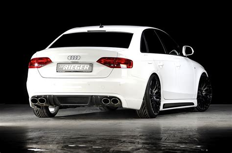 Rieger Audi by Rieger Tuning Bodykit For The New Audi A4