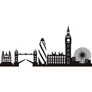 london skyline wall art sticker 95 london property