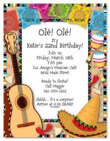mexican invitations photo cards invitations