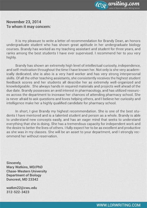 Albany College Of Pharmacy Letter Of Recommendation letter of recommendation for pharmacy school docoments