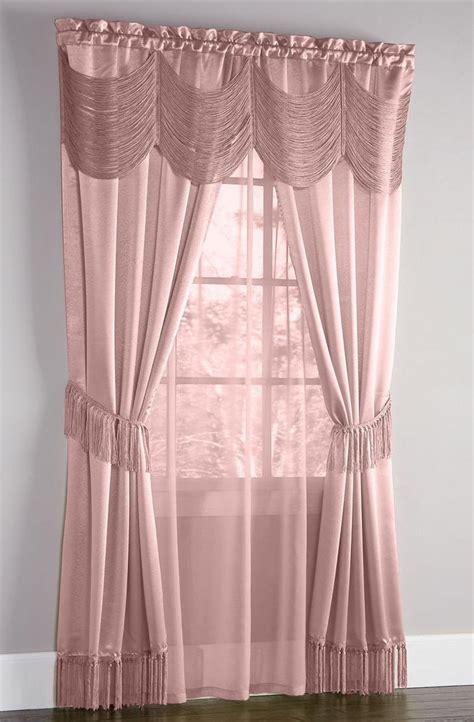 mauve curtains halley complete curtain set mauve achim draperies