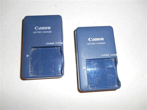 canon battery charger cb 2lv lot of 2 canon battery charger cb 2lv